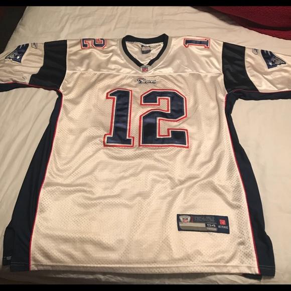 Size 54 Tom Brady New England Patriots jersey 39ff3c24e